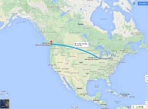 Flug Chicago - Vancouver